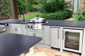 aluminum outdoor kitchen cabinets outdoor kitchen storage outdoor kitchens the home depot outdoor