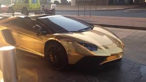 golden lamborghini golden lamborghini in bangladesh first time lamborghini cames in