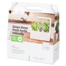 the smart garden click u0026 grow smart herb garden bianco acquistare online manor