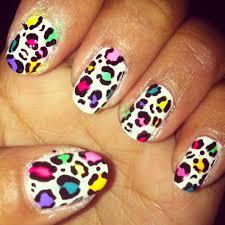 cheetah nail art designs u2013 acrylic nail designs