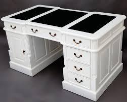 bureau style victorien bureau victorien en acajou massif blanc 140 cm oxford meubles de