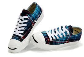 Converse High Heels Converse High Heels Jack Purcell Converse Scotland Plaid Low Tops