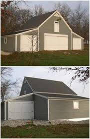 a custom craftsman style coach house built with the help of pole