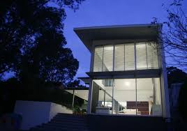 Glass Box House Hooded Glass Box Contemporary House Architecture Style Home