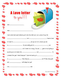 back to mailbox love letters for your kids free