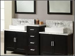 appealing double vanity base cabinet and sink bathroom home depot