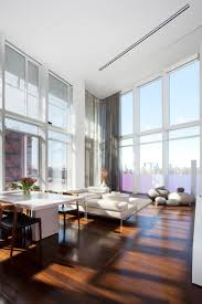 interesting images of various high ceiling lighting ideas for home fetching modern white living room decoration using high ceiling lighting including modern white leather living room