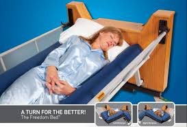 rotating hospital bed broadened horizons direct freedom bed automatic lateral rotation
