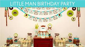 mustache birthday party ideas littleman b17 youtube