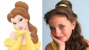 Disney Princess Hairstyles Belle Hairstyle Disney Princess Disney Video