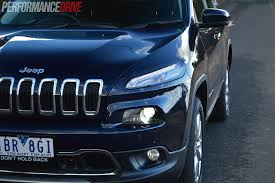 jeep cherokee lights 2014 jeep cherokee limited review video performancedrive