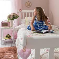 astrid sleigh single bed in white noa u0026 nani