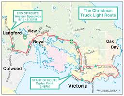 Truck Route Maps View Royal Ieoa Truck Light Convoy U0026 Food Drive December 3