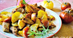 cuisiner le sauté de porc sauté porc mariné au citron et romarin à la plancha recette par