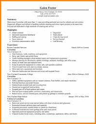 Sample Resume For Cleaning Job by House Cleaning Resumefree Cleaning Professionals Maintenance