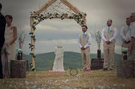 wedding arch log rustic wedding arch arbor log wood tree slice cabin decor