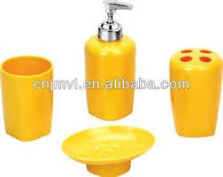 Grey And Yellow Bathroom Accessories yellow bathroom accessories bathroom bath accessories yellow