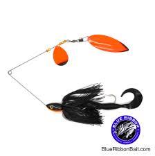 black and blue ribbon ace baits ace tandem blue ribbon bait tackle