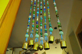 Crystal Beaded Curtains Australia by Blue Hanging Door Beads Bead Curtain Glass Beaded