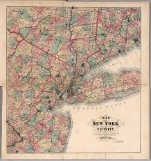 County Map Of Ny Map Of New York And Vicinity Accompanying Atlas Of Westchester