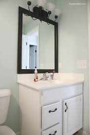 bathroom cabinets diy bathroom mirror how to frame a bathroom