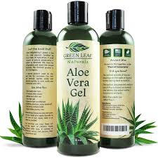 cool green products amazon com green leaf naturals aloe vera gel for skin face and