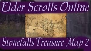 Stonefalls Ce Treasure Map Stonefalls Treasure Map 2 Elder Scrolls Online Youtube