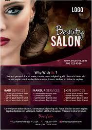 beauty salon free psd flyer template by stockpsd on deviantart