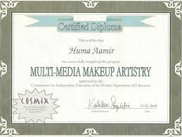 makeup artistry certification about huma huma s makeup