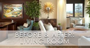 Before And After Living Rooms by La Jolla Luxury Living Room Before And After Robeson Design