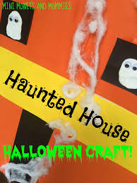 mini monets and mommies haunted house puppet theater halloween