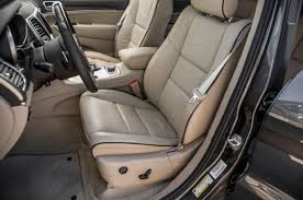 Jeep Overland Interior 2014 Jeep Grand Cherokee V 6 And V 8 First Tests Truck Trend