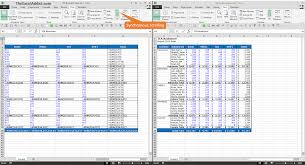Compare Spreadsheets In Excel Microsoft Excel Tips