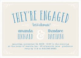 party invitations engagement party invitations 15 designs basic