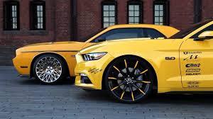 Dodge Challenger Accessories - 2015 ford mustang gt vs dodge challenger srt 392 hemi on lexani