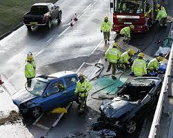 man cut free from ashford crash wreckage