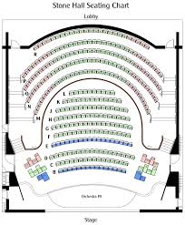 orchestra floor plan seating chart u2013 manatee performing arts center