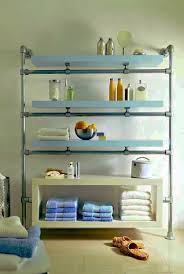 bathroom wondeful shelving idea for bathroom with glass shelves