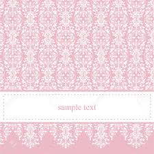 sweet pink vector card or invitation for party birthday baby