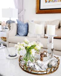 living room decor coffee table styling tray styling classy
