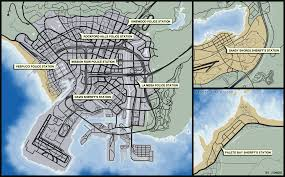 image gta5 police station map 03 png gta wiki fandom powered