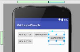 grid layout for android using the android 6 gridlayout manager in android studio designer