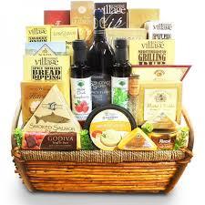 Gourmet Gift Baskets Cream Of The Crop Italian Infused Gourmet Gift Basket Buy Send