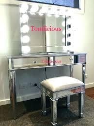 mirrored makeup vanity table vanity table mirror seslinerede com