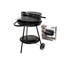 amazon com hibachi round portable garden barbeque wheel barrel