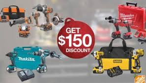 home depot black friday makita power tools home depot 2015 holiday cordless combo kit 100 and 150 savings promo