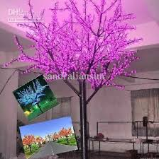 outdoor lighted cherry blossom tree 2018 3 5m led lighted trees cherry blossom tree light for outdoor
