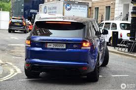 land rover london land rover range rover sport svr 3 august 2016 autogespot