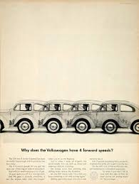 vintage volkswagen bug 1963 ad vintage volkswagen vw bug beetle 4 forward speeds
