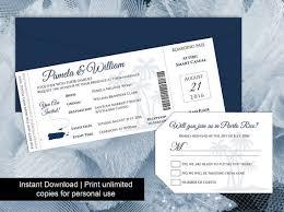diy printable wedding boarding pass luggage tag template 2595388